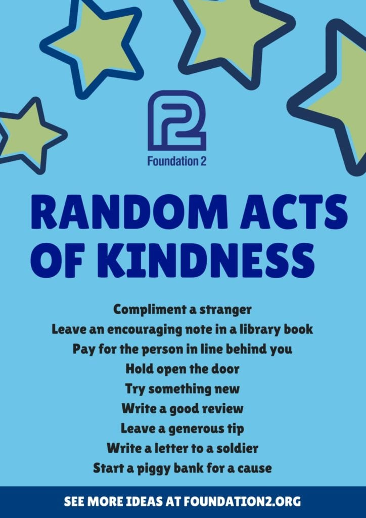 """One Reply to """"Good comes from acts of kindness"""""""